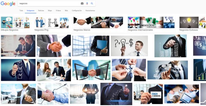negocios Buscar con Google